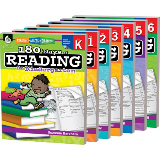 180 Days of Reading- Entire School Year (7-Book Set)