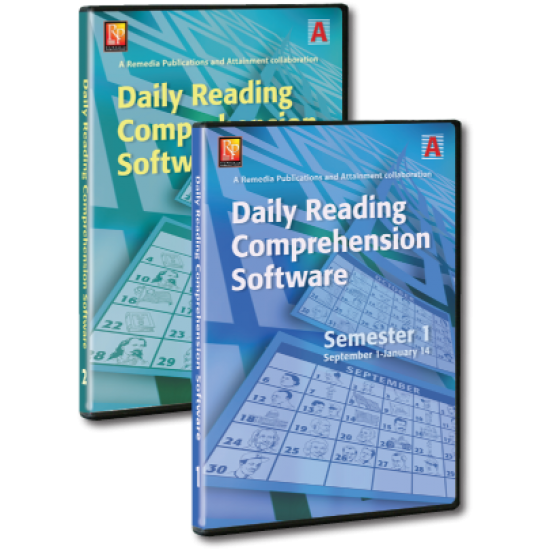 Daily Comprehension Software - School Year (Single User)