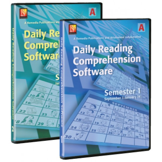 Daily Comprehension Software - School Year (5 Users)