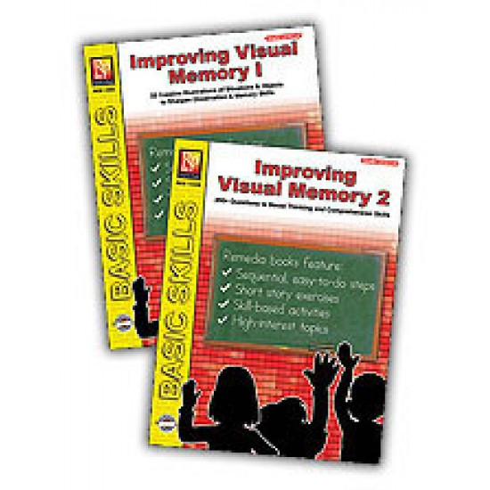Improving Visual Memory (2-Book Set)