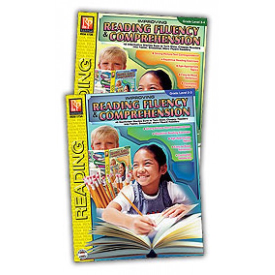 Improving Reading Fluency & Comprehension (2-Book Set)