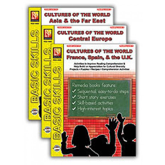 Cultures of the World (3-Book Set)