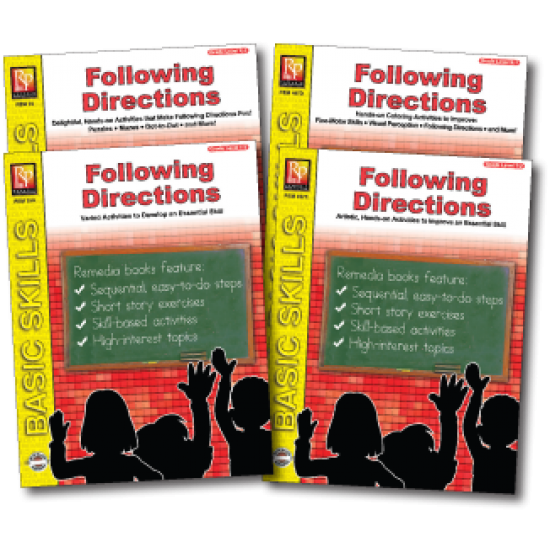 Following Directions (4-Book Set)
