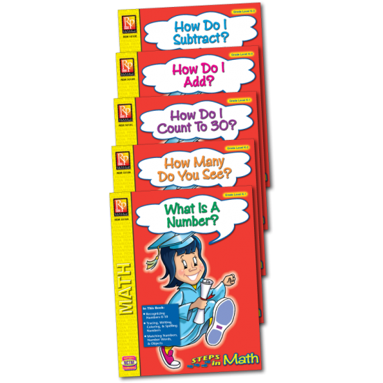 Steps in Math Series (5-Book Set)