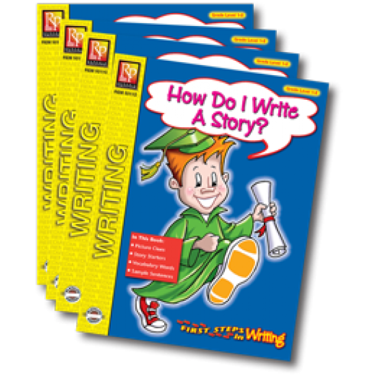 First Steps in Writing Series (4-Book Set)