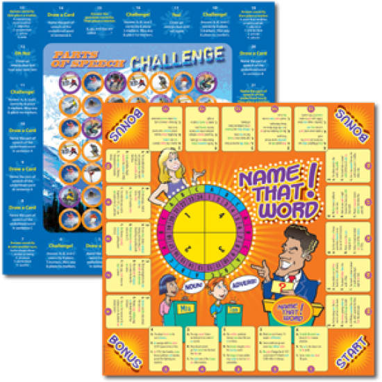 Parts of Speech Games (2-Game Set)