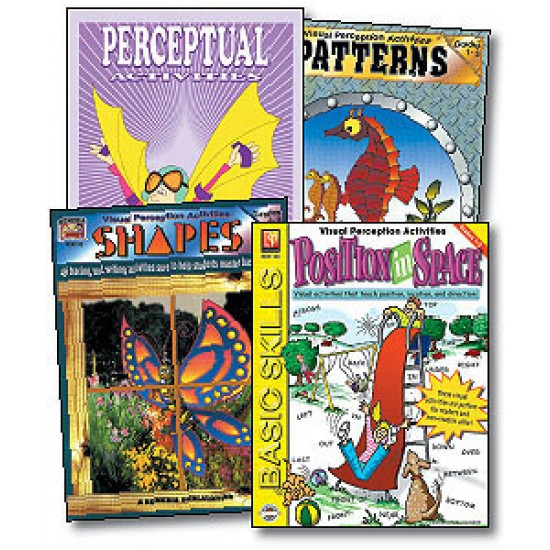 Perceptual & Spatial Concepts (4-Book Set)