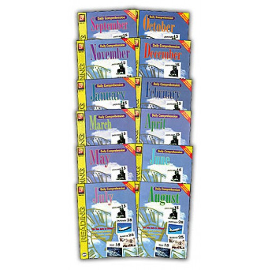 Daily Comprehension: Whole Year (12-Book Set)