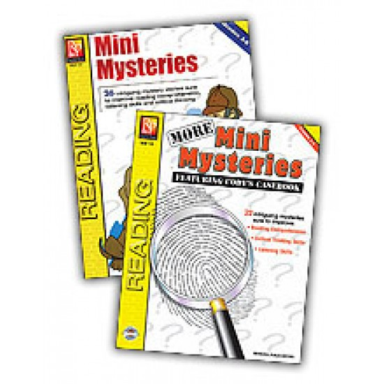 Mini Mysteries (2-Book Set)