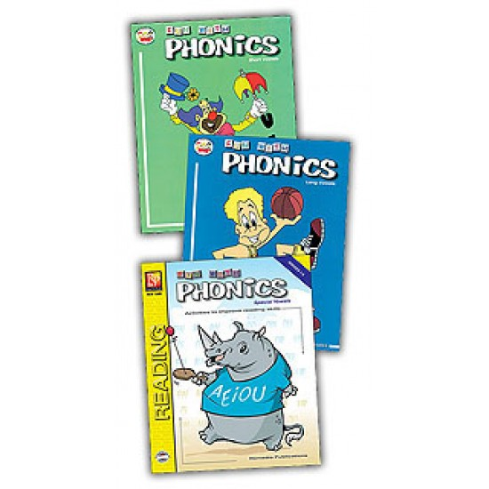 Fun With Phonics (3-Book Set)