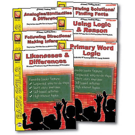 Primary Thinking Skills (6-Book Set)
