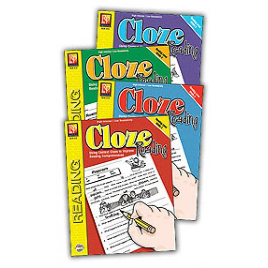 Cloze Reading (4-Book Set)