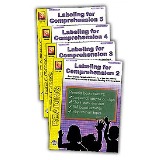 Labeling for Comprehension (4-Book Set)