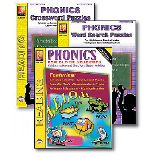 Phonics For Older Students (3-Book Set)