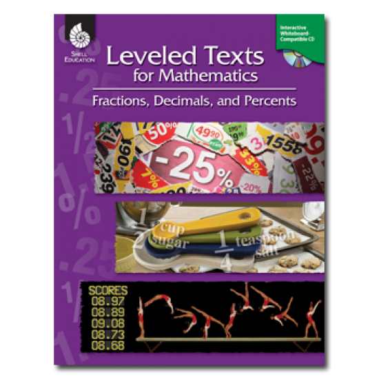 Leveled Texts for Mathematics: Fractions, Decimals, & Percents