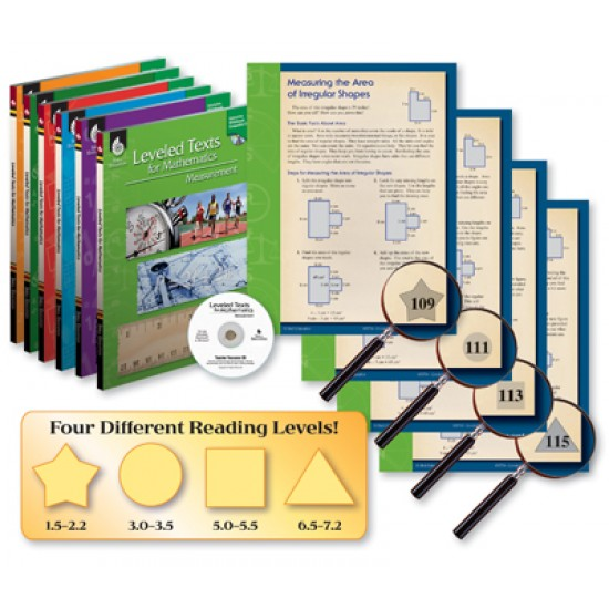 Leveled Texts for Mathematics (6-Book Set)