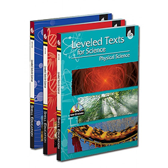 Leveled Texts for Science (3-Book Set)