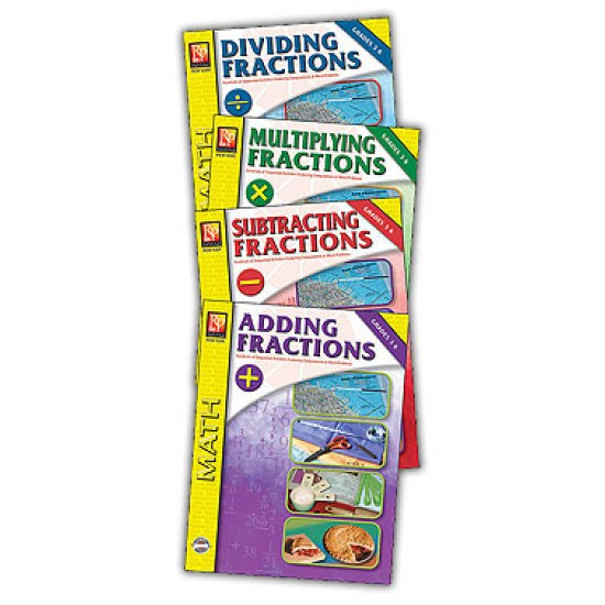 Fractions (4-Book Set)