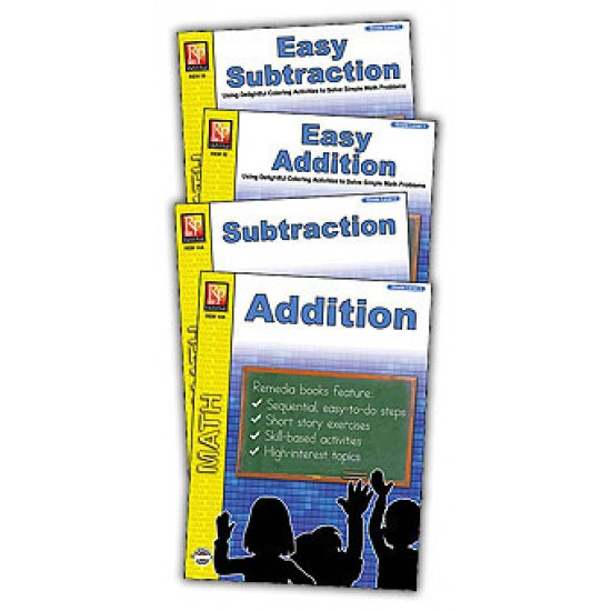 Easy Addition & Subtraction (4-Book Set)