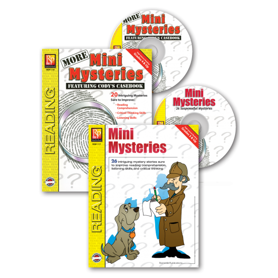 Mini Mysteries (2 Books & 2 Audio CDs Set)