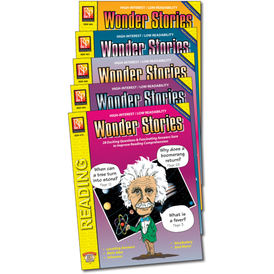 Wonder Stories (5-Book Set)