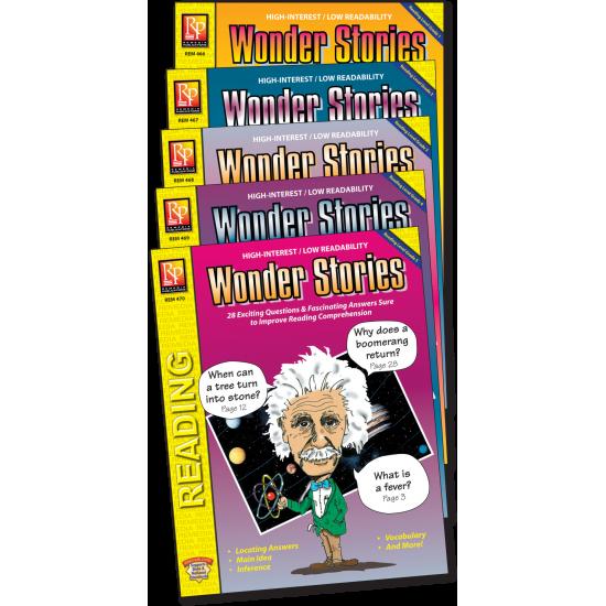 Wonder Stories (5-Book Set)