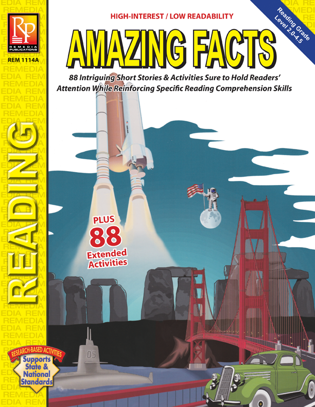 Amazing facts high interest reading ebook 1114ag fandeluxe Choice Image