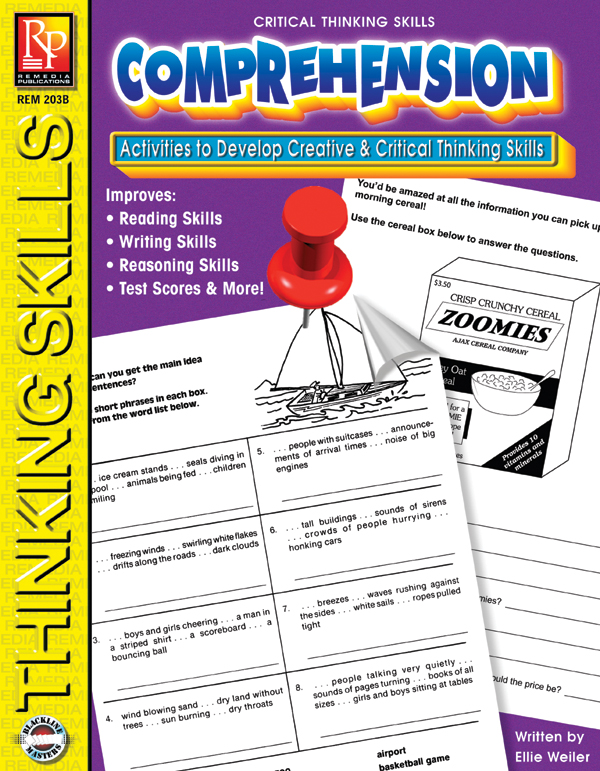 critical thinking skills list Four specific skills are most important for preparing students to succeed in the 21st century: critical thinking, communication, collaboration, and creativity nea developed this guide to help k-12 educators incorporate these ideas into their instruction.