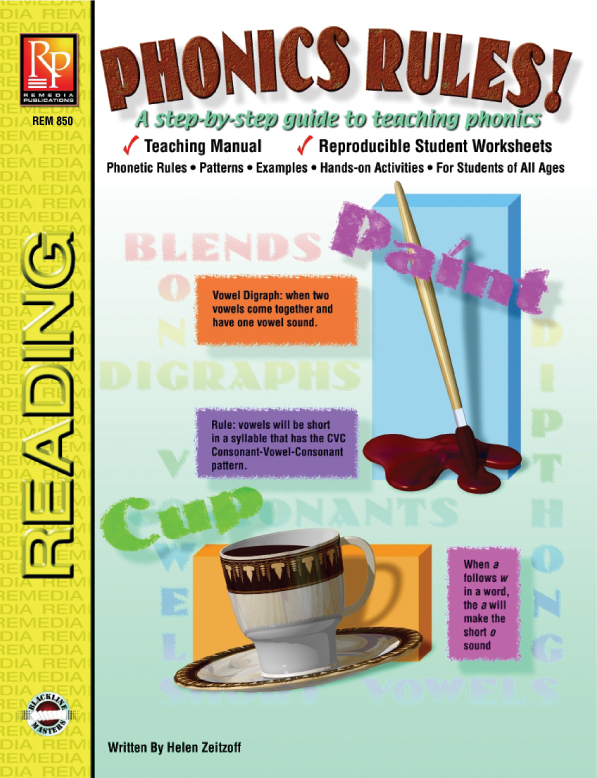 Phonics Rules – Reproducible Student Worksheet