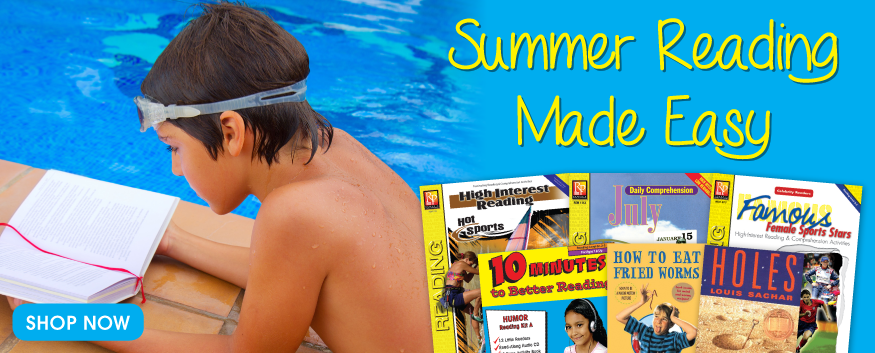 Summer Reading Made Easy - Click to Shop