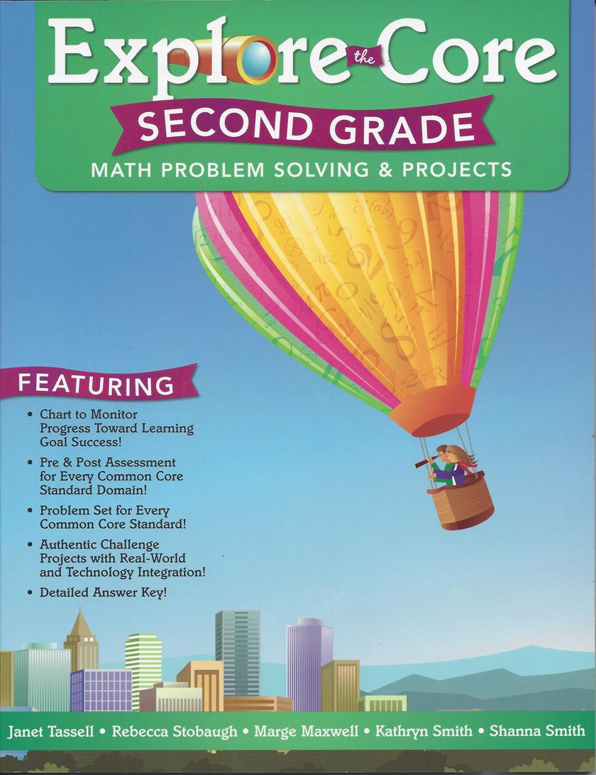 Explore the Core: Math Problem Solving & Projects (Grade 3)