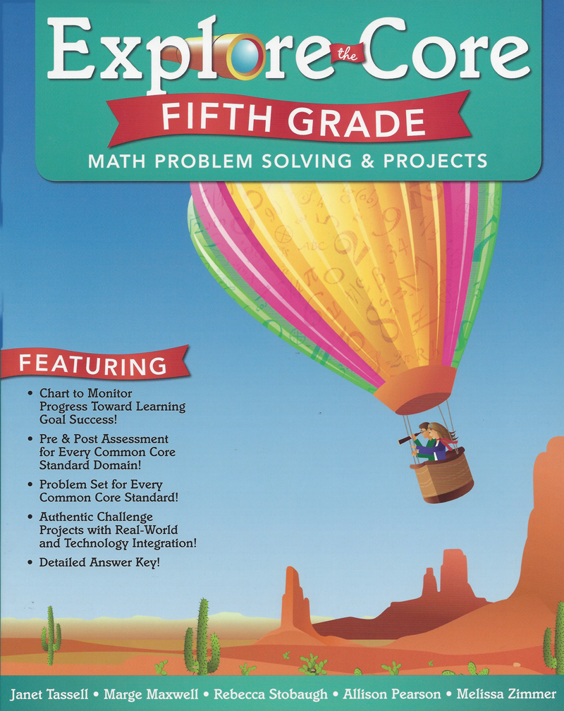 Explore The Core Math Problem Solving Projects 6 Book Set