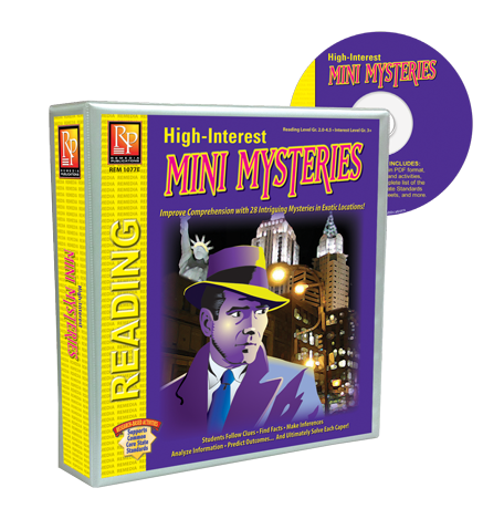 High-Interest Mini Mysteries Binder | Remedia Publications
