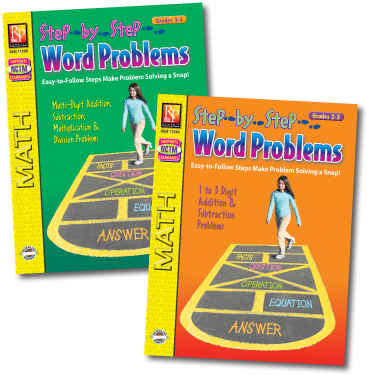 Remedia's Step-by-Step Word Problems (REM 1129C) | $14.99
